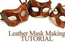 Craft Tutorials: Masks / Tutorials for Masks