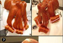 Craft Tutorials: Wigs / Wig making Tutorials