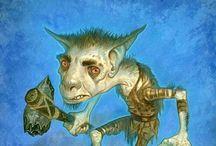 Mythology: Goblins, Ogres, and Trolls / Goblins, Ogres, and Trolls