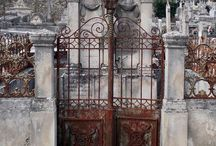 Structures: Gateways and Doorways. / Garden Gate, Stargate, Heaven's Door, Hobbit Holes and everything in between