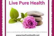 Live Pure Health / Live Pure Health is my blog posts board. I write about natural health and living, healthy food, detoxing, organic lifestyle and lots more.