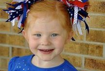 Fourth of July / Patriotic ideas, crafts and recipes for the 4th of July.