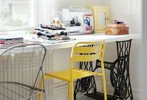 Inspiration & DIY ✁ Atelier / Bureau / by Déplumeuse de Chats
