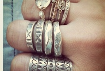 Necklaces, bracelets, and rings OH MY  / by Matisse Reischl