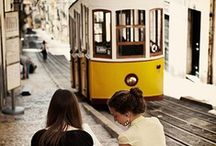 To-Go Places / Places Ive been to or I'd like to go. / by Luís Azevedo