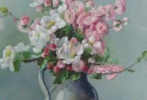 Art: Peintres de roses & autres fleurs