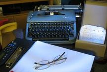 Every Day I Write the Book / Old-timey printing & writing implements. Writer's geekery. Writing tips. Writing quotes.  / by Jess Smith