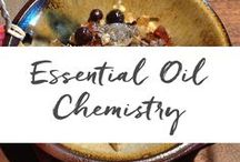 Essential Oil Chemistry / Learn essential oil chemistry for medicinal blending. Knowing essential oil components can help you choose essential oils for your products.  www.aromahead.com