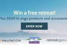 Giveaways! / by Halfmoon Yoga Products