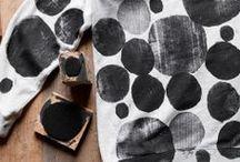 Inspiration & DIY ✁ impression (textile) / by Déplumeuse de Chats