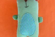 Cute Plushies and Softies / Plushies and Softies that inspire me