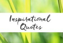 Inspirational Quotes / What inspires you? Everyone needs a dose of inspiration to nourish the mind, calm the heart and rejuvenate the spirit.  Get inspired to be all you can and to accomplish your dreams.   www.aromahead.com
