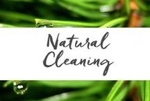 Natural Cleaning / Make your home sparkling clean and sweet smelling the all-natural way!  There's a lot to love about green cleaning.  It is reassuring to know that you're not getting toxic chemicals on your skin or on the surfaces in your home that you, your kids, and your pets come in contact with. www.aromahead.com