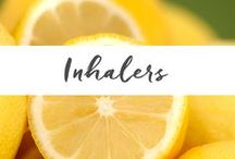 Inhalers / Inhalers are one of the most popular, simple, effective and inexpensive methods for using essential oils.  Inhalers can be carried with you and used throughout the day as a natural way to support your health. www.aromahead.com