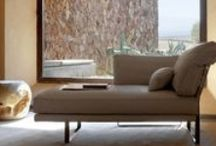 Seating. Chaise Lounge or day bed. Bed bench. / Seating. Chaise Lounge or day bed for Living areas or Master B.