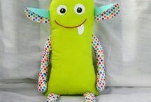 Cute and Scary Monster Plushies