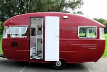 Great Outdoors: Vintage Trailer Love / Love vintage trailers... / by Punk-Rock Martha