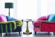 sofas & ottomans :: handmade & recycled / For more inspiration visit | www.naturalmoderninteriors.blogspot.com