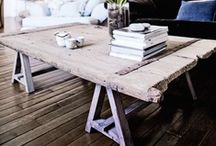 DIY recycled furniture / For more inspiration visit | www.naturalmoderninteriors.blogspot.com