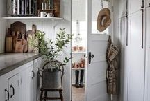 COTTAGE / Scandinavian country house interior