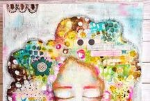 Mixed media / Trabajos de mixed media q me encantan