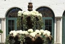 FLORAL FOUNTAINS / Floral Fountains for luxury weddings, events or luxury parties.