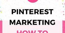 Pinterest dla biznesu / Wskazówki dotyczące strategii marketingowej dla biznesu na Pinterest.
