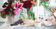 FALL PARTY + EVENT IDEAS / Fall Wedding, Event and party ideas.