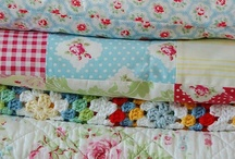 Cover Me in Quilts / oh to have just inherited one of Grandma's quilts...... / by Karen Carpentier
