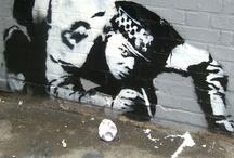 Banksy Graffiti / by Jeremi Karnell