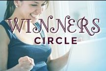 Winner's Circle! / This is the spot where WomanFreebies.com will announce winners of our many GIVEAWAYS & Sweepstakes! / by WomanFreebies.com