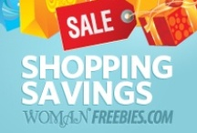 Shopping Savings / This is the album that I'll post all of the super sweet deals I find on all my favorite shopping sites! / by WomanFreebies.com