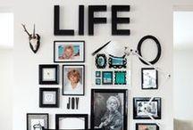 ➵ HOME. / Tableau regroupant des inspirations de décorations d'interieur