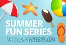 Summer Fun Series / Need some fun ideas to keep your kids busy this summer? / by WomanFreebies.com