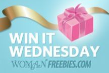 Win It Wednesday / A different prize every week - 24 hours to enter! / by WomanFreebies.com