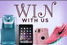 Win With Us / See our weekly and monthly giveaways! / by WomanFreebies.com
