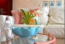 Coastal Living Interiors / Treasure Coast Decor ..... Beachy .....Breezy ... Cool & Colorful.....                                                                                    I love creating Beautiful Spaces That make a House a Home