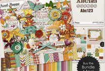 {Grateful} Digital Scrapbook Collection by Digilicious Design / {Grateful} Digital Scrapbook Collection by Digilicious Design available at Sweet Shoppe Designs