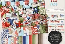 {Happy-Go-Lucky} Digital Scrapbook Collection by Digicious Design available at Sweet Shoppe Designs