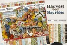 {Harvest & Hayrides} Digital Scrapbook Collection by Digilicious Design available at Sweet Shoppe Designs