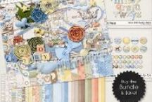 {Hush Little Baby} Digital Scrapbook Bundle by Digilicious Design available at Sweet Shoppe Designs