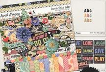 {Love This Life} Digital Scrapbook Collection by Digilicious Design available at Sweet Shoppe Designs