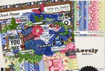{Love Ya, Baby} Digital Scrapbook Collection by Digilicious Design available at Sweet Shoppe Design