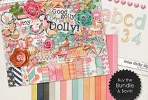 {Miss Dolly} Digital Scrapbook Collection by Digilicious Design available at Sweet Shoppe Designs