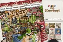 {Ride 'em Cowboy} Digital Scrapbook Collection by Digilicious Design available at Sweet Shoppe Designs