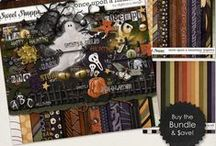 {Once Upon A Haunting} Digital Art Collection by Digilicious Design available at Sweet Shoppe