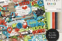 {Sold!} Digital Scrapbook Collection by Digilicious Design available at Sweet Shoppe Designs / {Sold!} Digital Scrapbook Collection by Digilicious Design available at sweetshoppedesigns.com