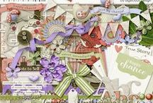 {Serendipity} Digital Scrapbook Collection by Digilicious Design / Serendipity: the occurrence and development of events by chance in a happy or beneficial way.