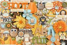{Fall's A Hoot} Digital Scrapbook Collab Kit by Digilicious Design and Jady Day Studio