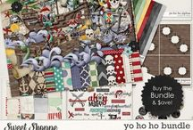 {Yo Ho Ho} Digital Scrapbook Collection by Digilicious Design available at Sweet Shoppe Designs